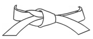 Ceinture blanche - 9e kyu