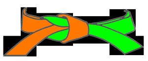 ceint-orange-vert
